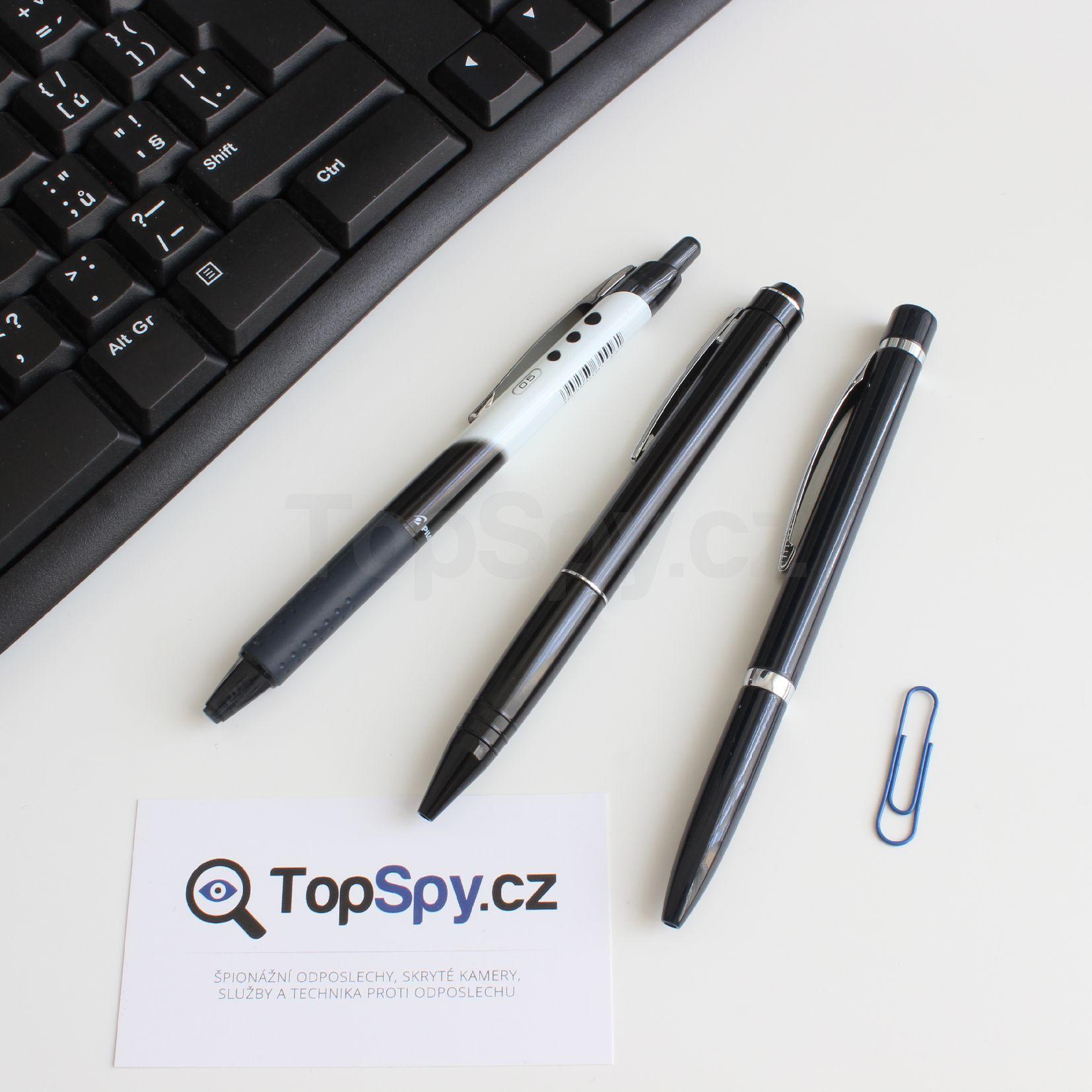 Odposlech - špionážní propiska TopSpy PEN 77