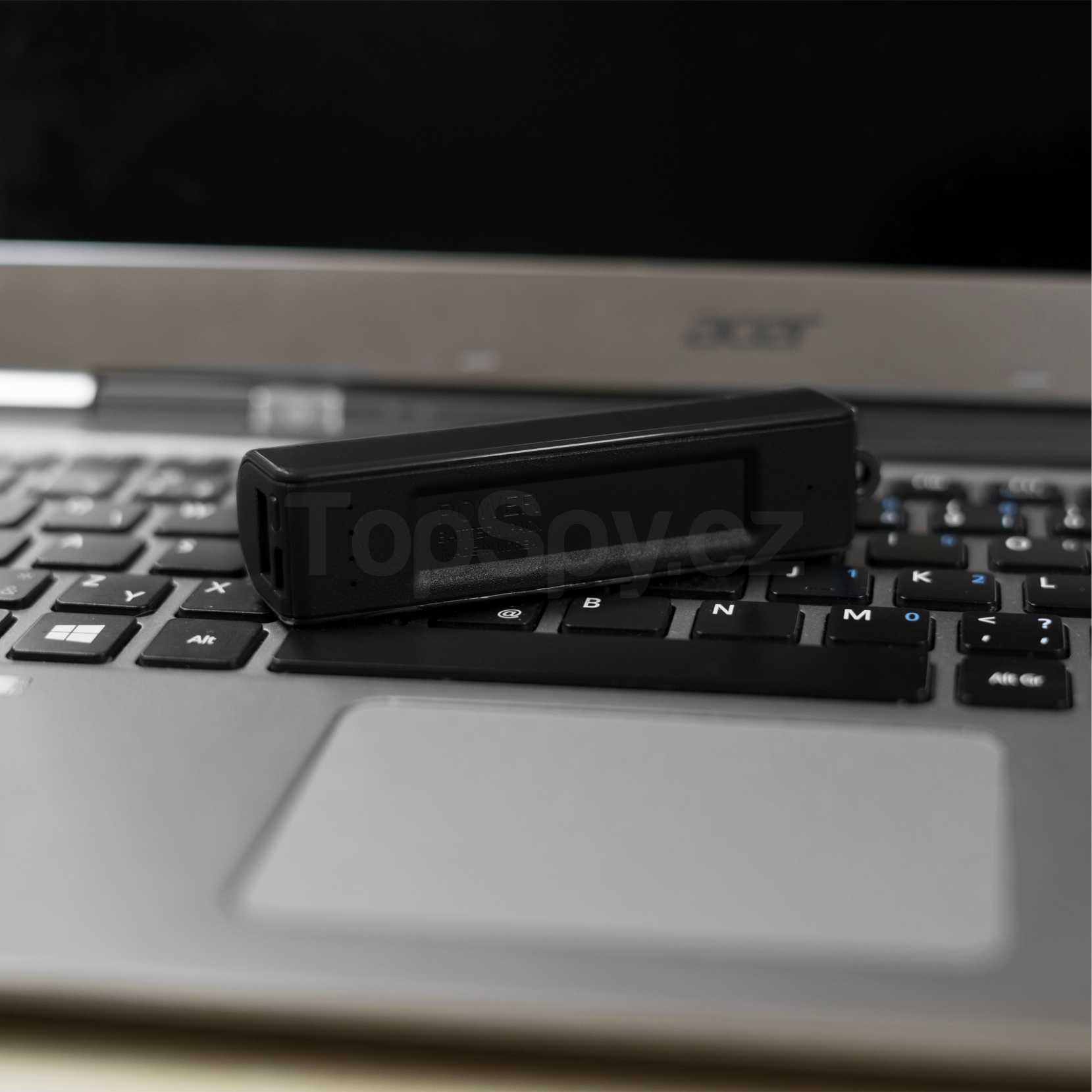 Odposlech powerbanka TopSpy L500 TIME