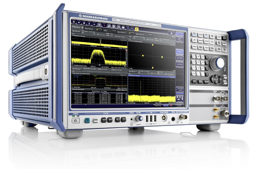 Pokročilý spektrální analyzátor Rohde & Schwarz FSW