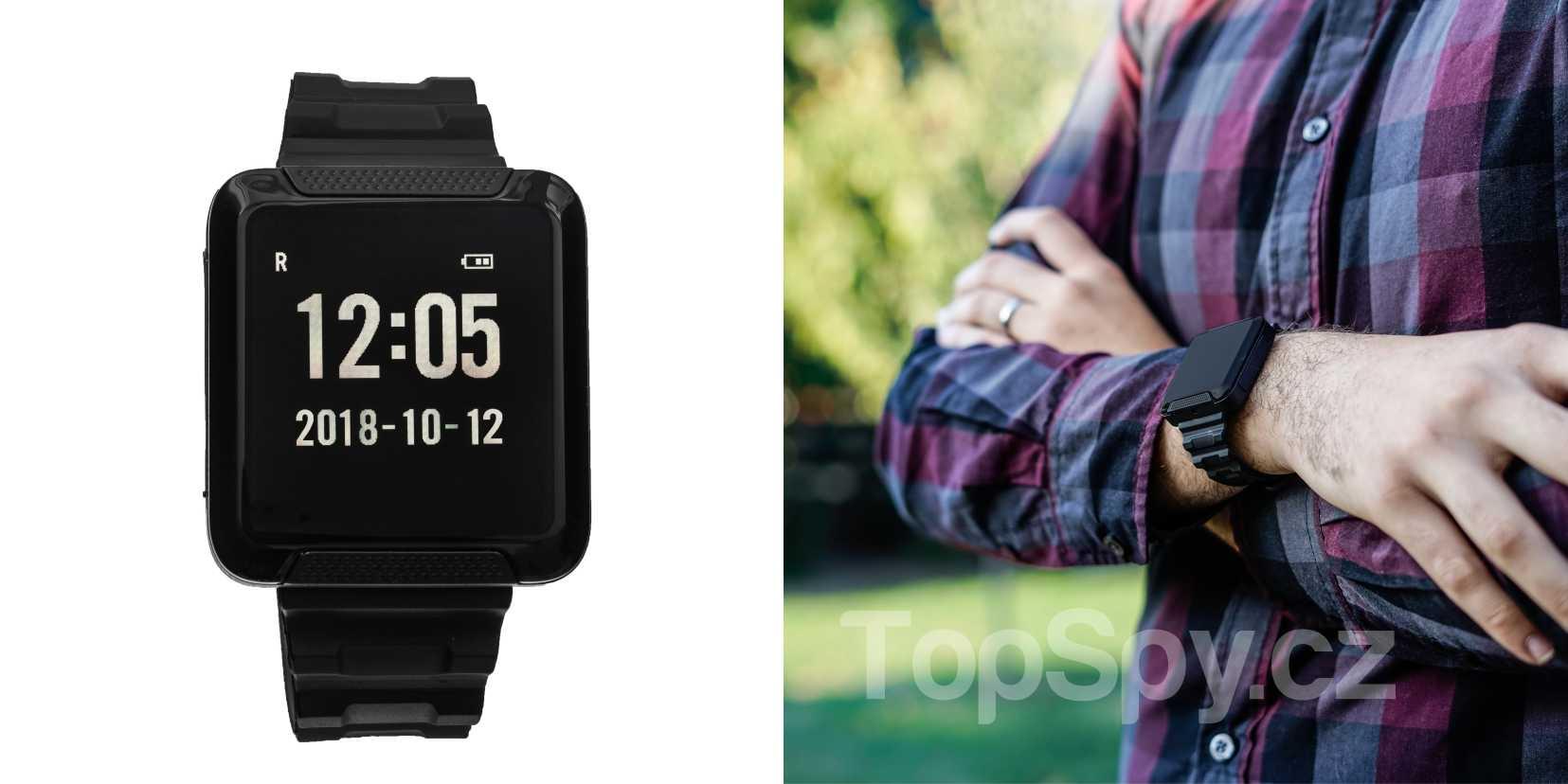 Skrytá kamera hodinky LawMate PV-WT10